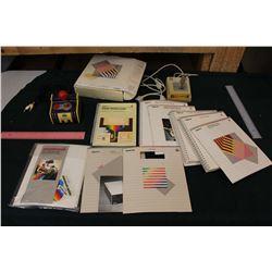 Apple II Manuals and Joysticks (1 Namco TV Game)