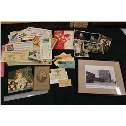 Lot of Paper Misc. and Memories Photo Album