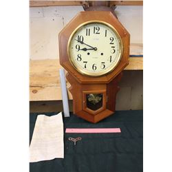 Old Timer 31 Day Pendulum Clock