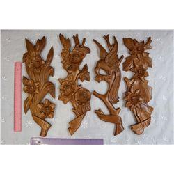Four Seasons Wooden Wall Decor