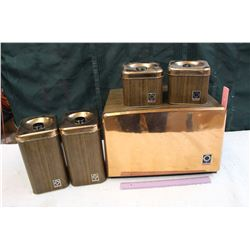 Westbend Bread Box & Cannisters