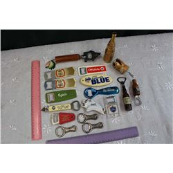 Lot of Bottle Openers
