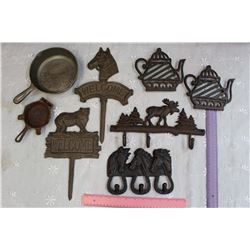 Lot of Cast Iron Pieces (8)