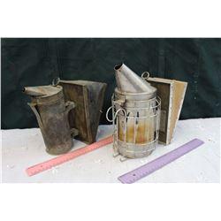 Vintage Beehive Smokers (2)