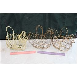Egg Wired Baskets (3)