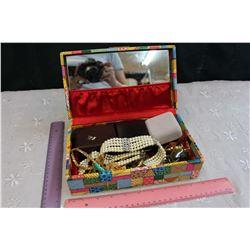 Jewelry Box w/Jewelry