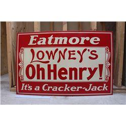 Vintage 'Oh Henry' Sign