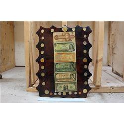Vintage Handmade Money Sign