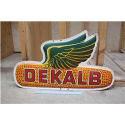 Vintage Dekalb Sign