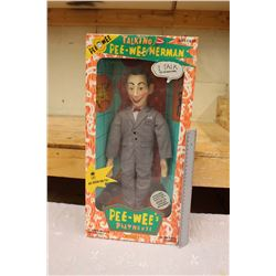 1987 Talking Pee-Wee Herman Doll- In Original Package
