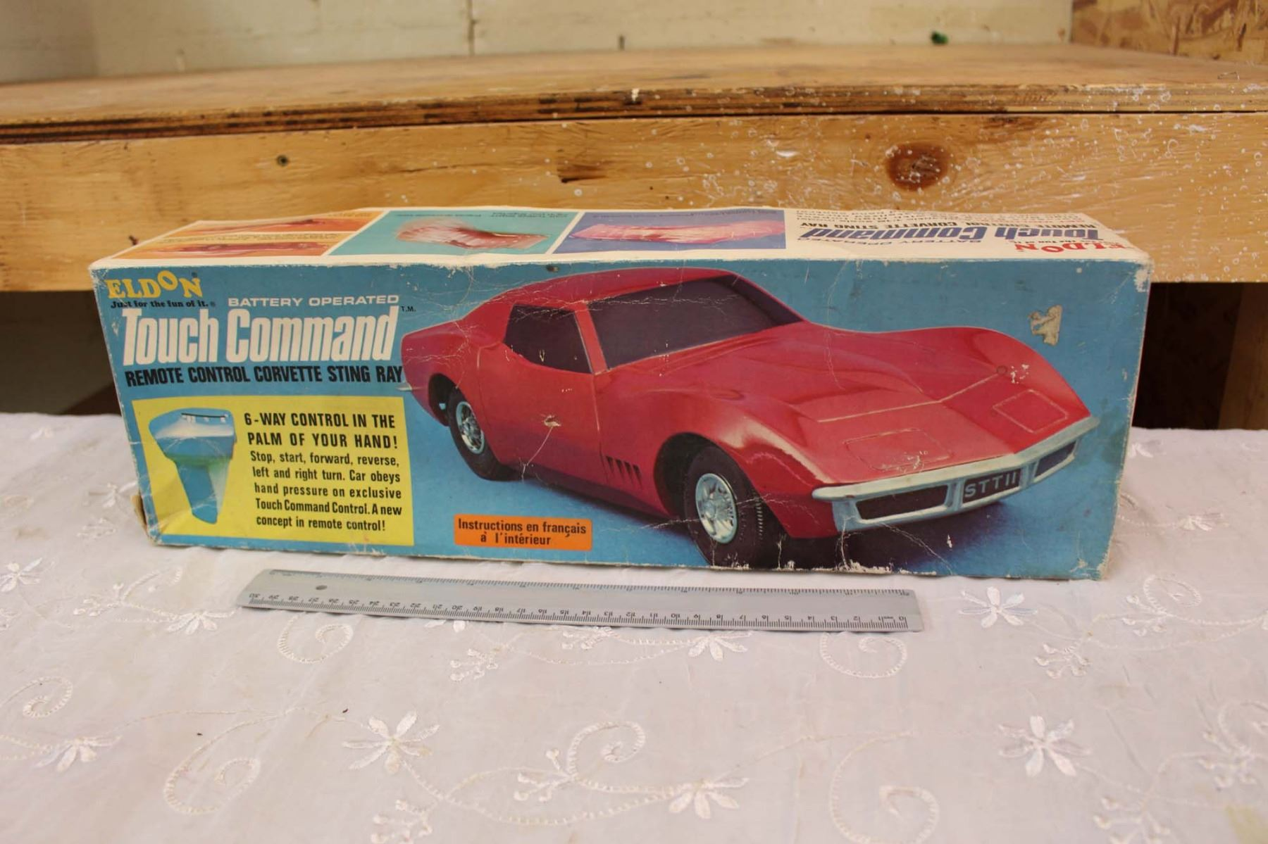 Image 1 1968 Eldon Touch Command Remote Control Corvette Sting Ray