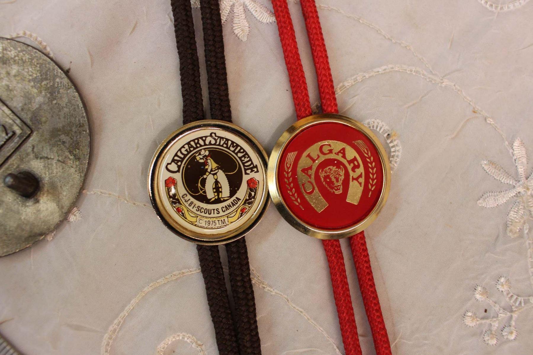 Vintage Calgary Beer Bolo Tie Vintage Calgary Stampede