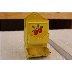 Vintage Apple Matchbox Holder