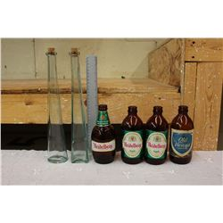 Lot of Glass Bottles