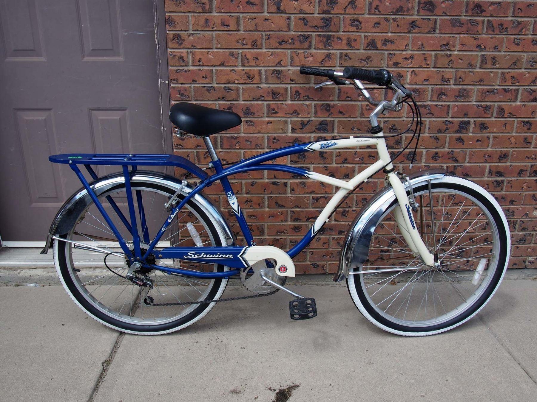 Schwinn Bicycle, 6 Speed 5 Star Cruiser- No Repairs Needed