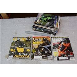 Lot of 2000-2010 Cycle Canada Motorcycle Magazines
