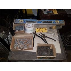 Box with assorted Tools & contain