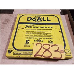 DoALL Band Saw blade Coil 1/2''