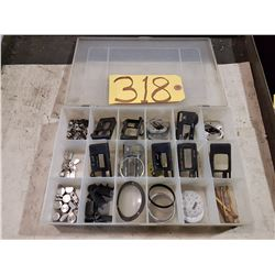 Box of Parts to repair Precision instruments