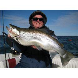 8-Hour Lake Ontario Fishing Charter for 4