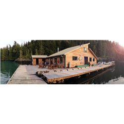 4 Day, 3 Night, British Columbia Coastal Fishing Trip for 2 with Coastal Springs Float Lodge