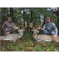 $4,000 credit for 2 hunters Whitetail Hunt with Briarwood Sporting Club