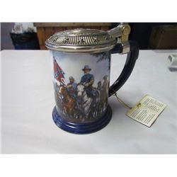 General Robert E. Lee Civil war collector tankard