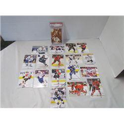 Terry Sawchuk 1991 Pro set & Assorted hockey cards Richards, Andpropov, Shepphard, Kunitz, Marc Andr