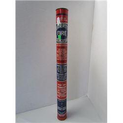 "Liberty fire extinguisher 22"" tall 3lbs"
