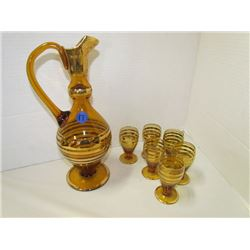 Romanian decanter set