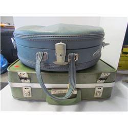 2 Antique suitcases