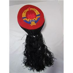 Yugoslavia Embroidered Resistance Anti Fascist Hat Serbian Croatian