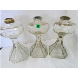 3 #2 Colonial Lamps