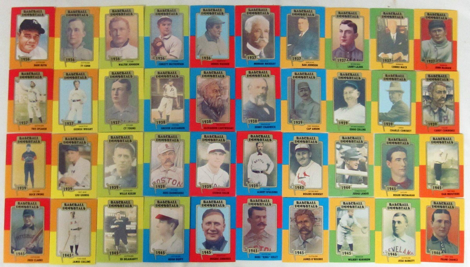 Set 160 Baseball Immortals Cards