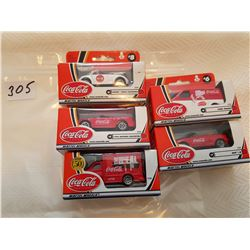 Coco-Cola match box toys 5