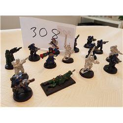 15 War hammers figurine toys