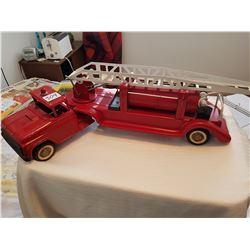 Buddy L fire truck