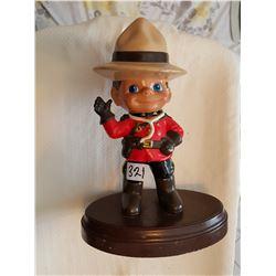 "RCMP 12"" High figurine"
