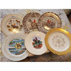 6 RCMP plates