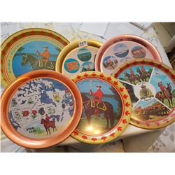 6 Round RCMP trays