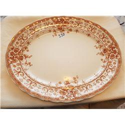 Vintage Oxford platter large