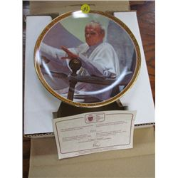 Plate Box -Pope Visits 1984 Limited Edition