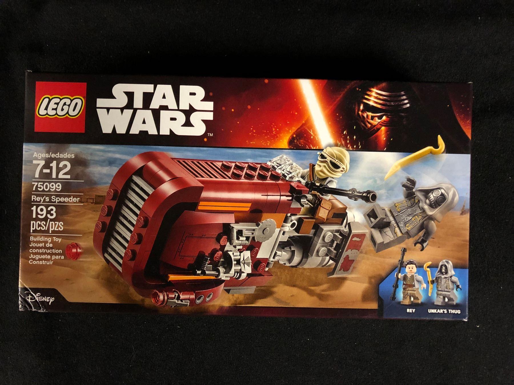Lego Star Wars Reys Speeder Building Toy In Box