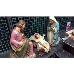 3pc Large Nativity Scene