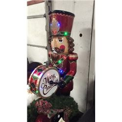 6ft Lighted Nutcracker