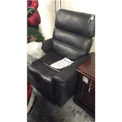 Clifton Power Leather Recliner