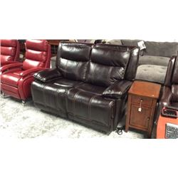 Marya Leather Recline Loveseat