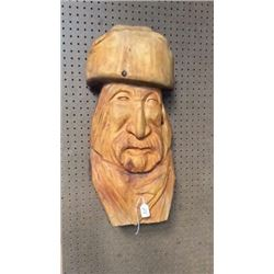 M Soto Bust Carving