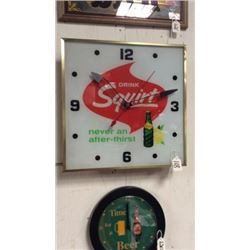 Drink Squirt Clock 1965