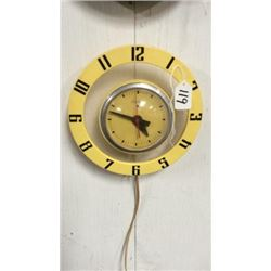 Vintage Telechrom Clock